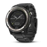 Навигатор-часы Garmin D2 Charlie, Titanium Bezel, с титановым и силиконовым ремешками (010-01733-33)