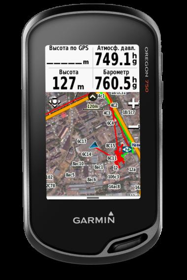 Навигатор Garmin Oregon 750t с картами России ТОПО 6. Артикул: 010-01672-34