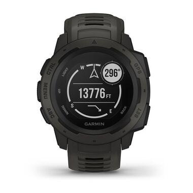 Защищенные GPS-часы Garmin Instinct, цвет Monterra Gray (010-02064-00) #1