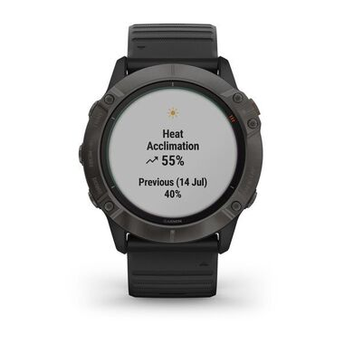 Мультиспортивные часы Garmin Fenix 6X PRO Solar с GPS, титановый с черным ремешком (010-02157-21) #7