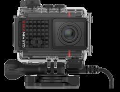 Экшн-камера GARMIN Ultra 30 4K с GPS с кейсом и кабелем электроподключения (010-01529-34)