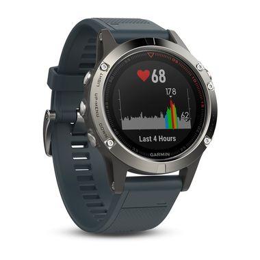 Garmin Fenix 5 с GPS, с синим ремешком1