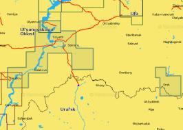 Карта Navionics 5G628S2 Река Волга от Ульяновска до Саратова (5G628S2)