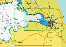 Карта Navionics 5G295S Финский залив, Нева (5G295S)