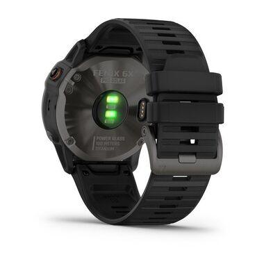 Мультиспортивные часы Garmin Fenix 6X PRO Solar с GPS, титановый с черным ремешком (010-02157-21) #8