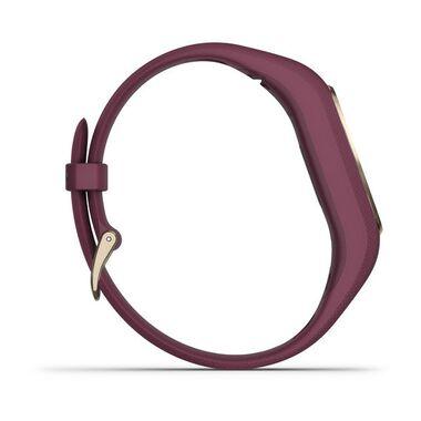 Фитнес-браслет Garmin VivoSMART 4, бордовые с золотом, 122-188мм (010-01995-21) #3