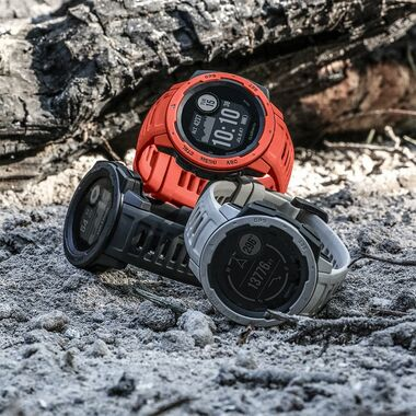 Защищенные GPS-часы Garmin Instinct, цвет Flame Red (010-02064-02) #4