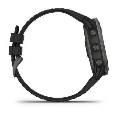 Мультиспортивные часы Garmin Fenix 6X PRO Solar с GPS, титановый с черным ремешком (010-02157-21) #4