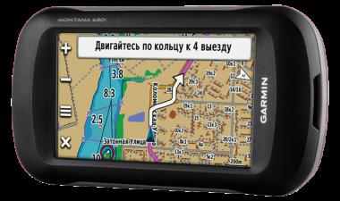 Навигатор Garmin Montana 680t, GPS/ГЛОНАСС topo Russia (010-01534-13) #1