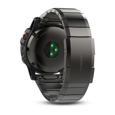 Мультиспортивные часы Garmin Fenix 5X Sapphire с GPS, серые с металлическим браслетом (010-01733-03) #3