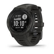 Защищенные GPS-часы Garmin Instinct, цвет Monterra Gray (010-02064-00)
