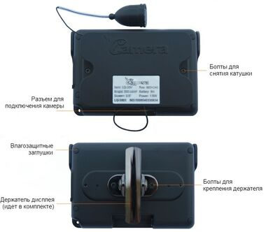 Подводная видеокамера Rivotek, LQ-3505T25 #2