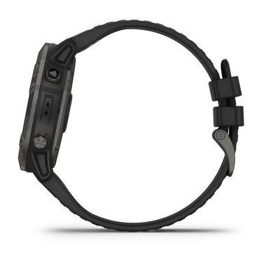 Мультиспортивные часы Garmin Fenix 6X PRO Solar с GPS, титановый с черным ремешком (010-02157-21) #9