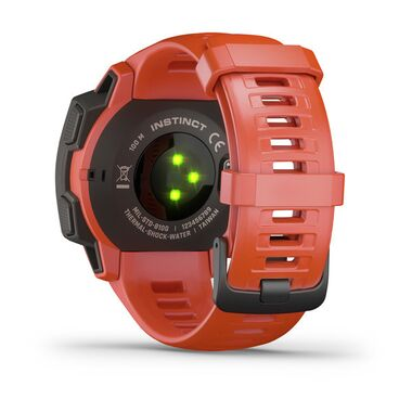 Защищенные GPS-часы Garmin Instinct, цвет Flame Red (010-02064-02) #3