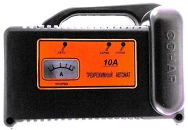"Зарядное устройство СОНАР ""Рыболов"" 10А для тяговых аккумуляторов (ЗУ 207.03R 10 А)"