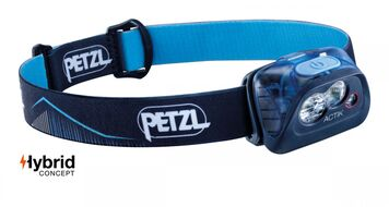 Фонарь налобный Petzl ACTIC, синий (E099FA01)