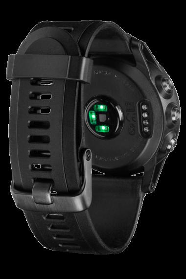 Навигатор-часы Garmin Fenix 3 HR серебрянный с черным силикон. браслетом (010-01338-77) #2