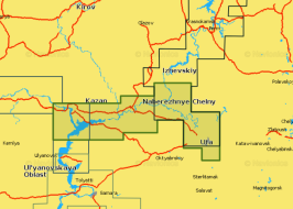 Карта Navionics 5G633S2 река Белая и нижняя Кама (5G633S2)