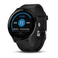 Смарт-часы Garmin Vivoactive 3 EEU Music, с функцией GARMIN PAY, черные (010-01985-03)