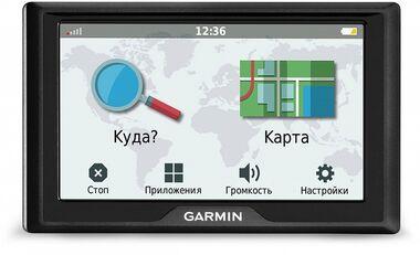 Навигатор DriveSmart 51 RUS LMT Garmin. Артикул: 010-01680-46