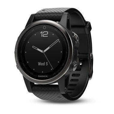 Спортивные часы garmin fenix 5s sapphire черные с черным ремешком Garmin. Артикул: 010-01685-11