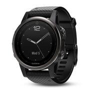Мультиспортивные часы Garmin Fenix 5S Sapphire с GPS, черные (010-01685-11)